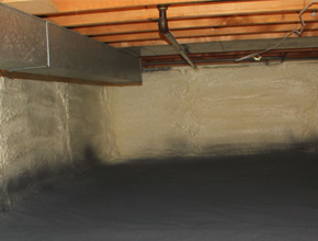 crawl space spray insulation for California